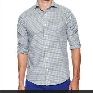 EUC Jack Spade Blue & Geen Tattersall Shirt